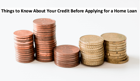 Things to Know About Your Credit Before Applying for a Home Loan